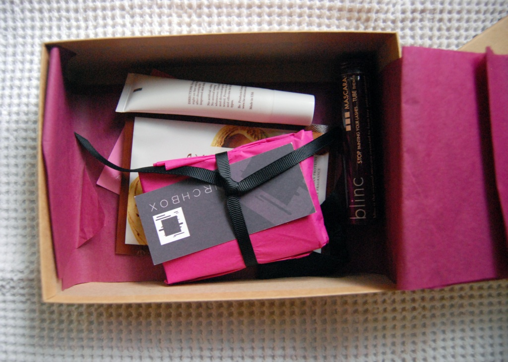 the birchbox pretty packaging