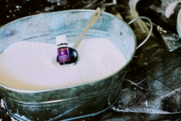 homemade laundry detergent from the sleepy time gal